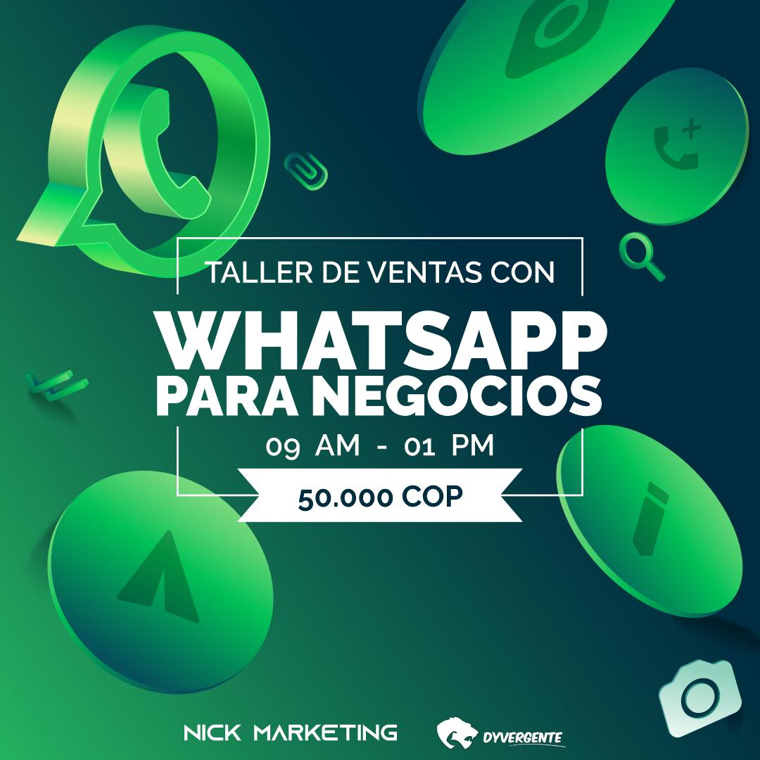 Taller de WhatsApp Business en Bogotá