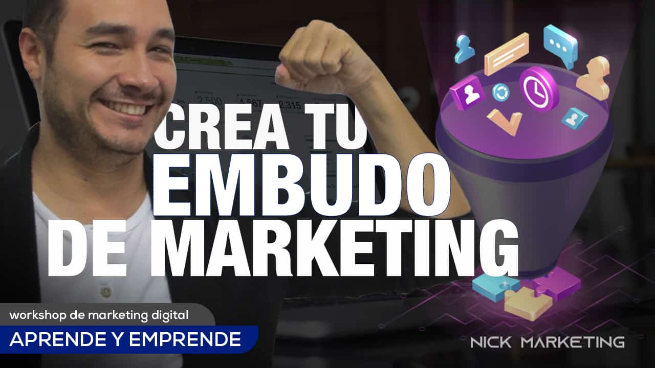 como crear un embudo de marketing