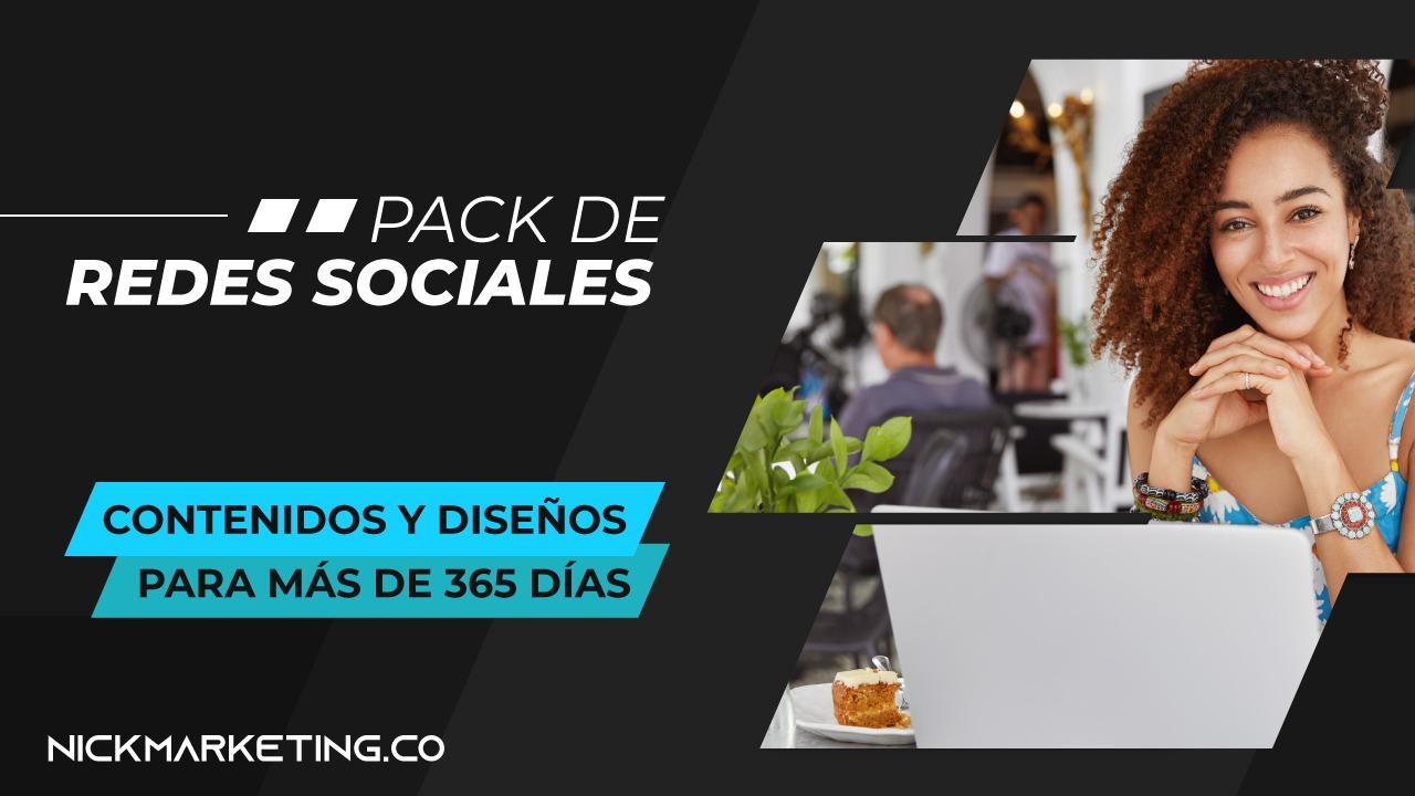 pack de plantillas para redes sociales
